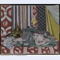 Odalisque in grey culottes 1927