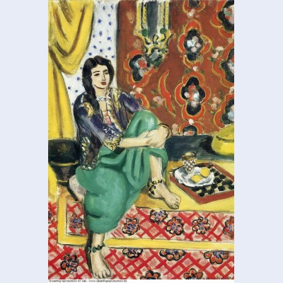 Odalisque sitting with board 1928
