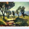 Olive trees 1898