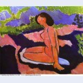Pink nude or seated nude 1909
