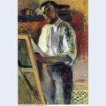 Self portrait in shirtsleeves 1900