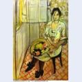 Sitting woman 1919