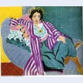 Small odalisque in purple robe 1937