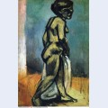 Standing nude nude study 1907