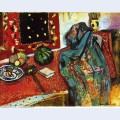 Still life with a red rug 1906