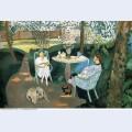 Tea in the garden 1919