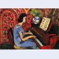 Woman at tbe piano