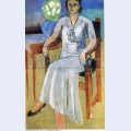 Woman with a white dress 1934