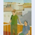 Couple on the balcony