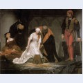 The execution of lady jane grey