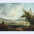 An extensive landscape near paris