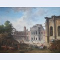 Demolition of the ch teau of meudon