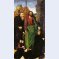 The portinari altarpiece st thomas and st anthony the hermit with tommaso portinari and two
