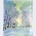 Hoar frost uzkoye