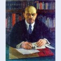 Lenin in working cabinet