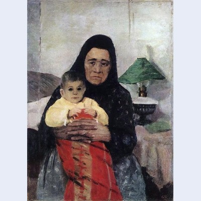 Nanny with child