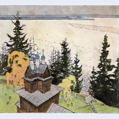 On north dvine postcard