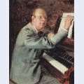 Portrait of sergei prokofiev 2
