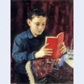 Portrait of the painter s son