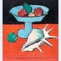 Still life with tazza and seashell