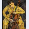 Portrait of vera poppe playing the cello