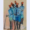Watusi policemen