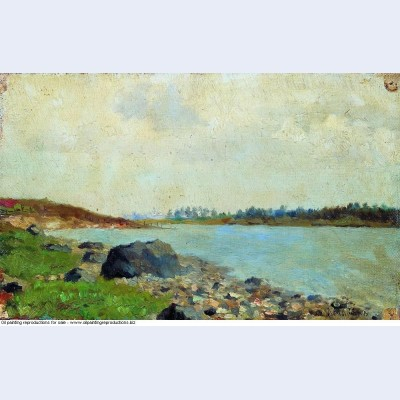 At moscow river 1877