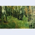 At the birch grove