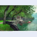 At the lake como enbankment 1894
