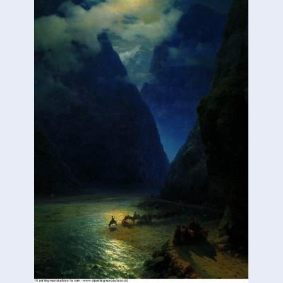 Darial gorge 1862