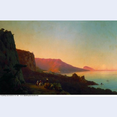Evening in the crimea 1848