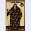 Boyar costume design for the opera boris godunov by modest mussorgsky 2
