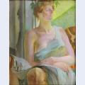 Bacchante portrait of maria bal