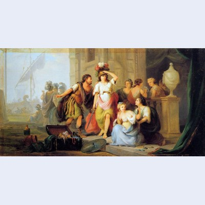Odysseus discovers achilles