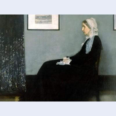 Arrangement in grey and black no portrait of the artist s mother