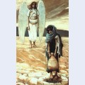 Hagar and the angel in the desert