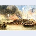 The bombardment of sveaborg in the baltic august