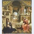 Saint luke painting the virgin 2