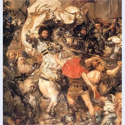 Battle of grunwald the death of the grand master ulrich von jungingen detail