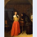 Bathsheba receiving david s letter