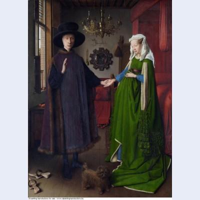 The arnolfini wedding the portrait of giovanni arnolfini and his wife giovanna cenami the 1434