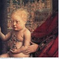 The virgin of the chancellor rolin detail 1436 2