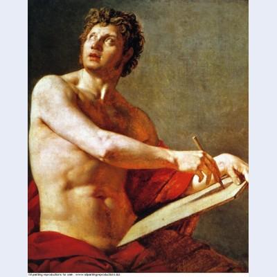 Academic study of a male torse