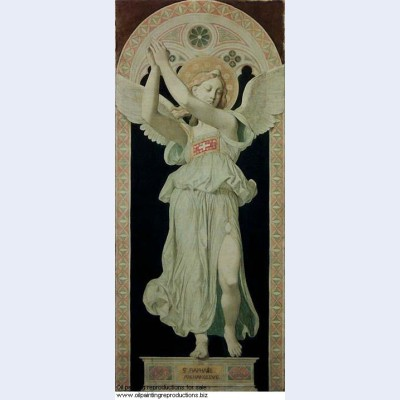 Cardboard for the windows of the chapel of st ferdinand st raphael archangel