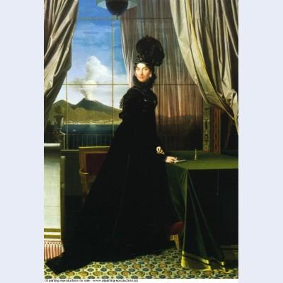 Caroline murat queen of naples 1814