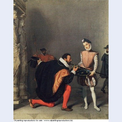 Don pedro of toledo kissing the sword of henri iv 1