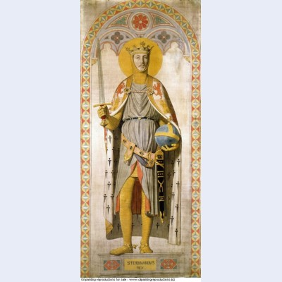 Duke ferdinand philippe of orleans as st ferdinand of castile