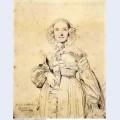Madame jean auguste dominique ingres born madeleine chapelle