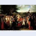 Napoleon receives the keys of vienna