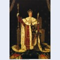Portrait of charles x in coronation robes 1829